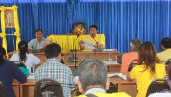 โครงการประชุมคณะกรรมการหลักประกันสุขภาพระดับท้องถิ่น ประจำปี 2563_4